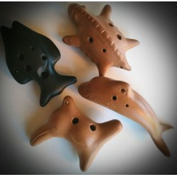 OCARINA CERAMICA ANIMAL. 4...